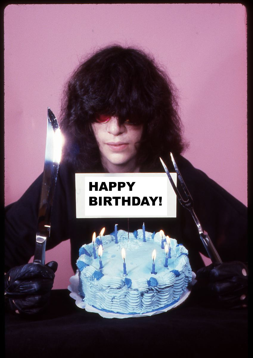 Joey Ramone Birthday